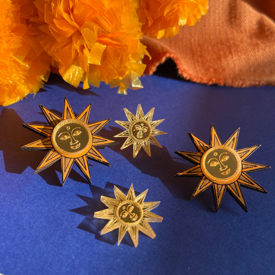 Sun Studs - Anisha Parmar London