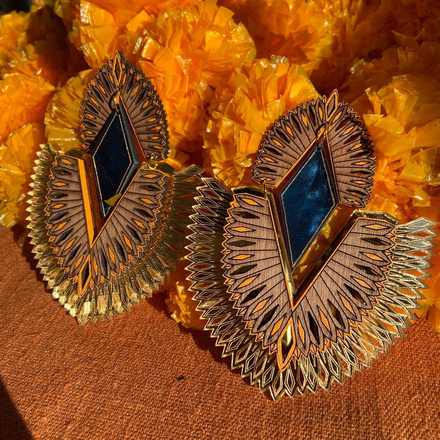 Karma Earrings - Anisha Parmar London