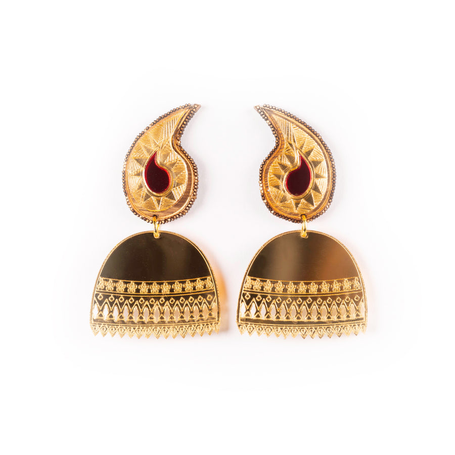 Jhumka Earrings - Anisha Parmar London