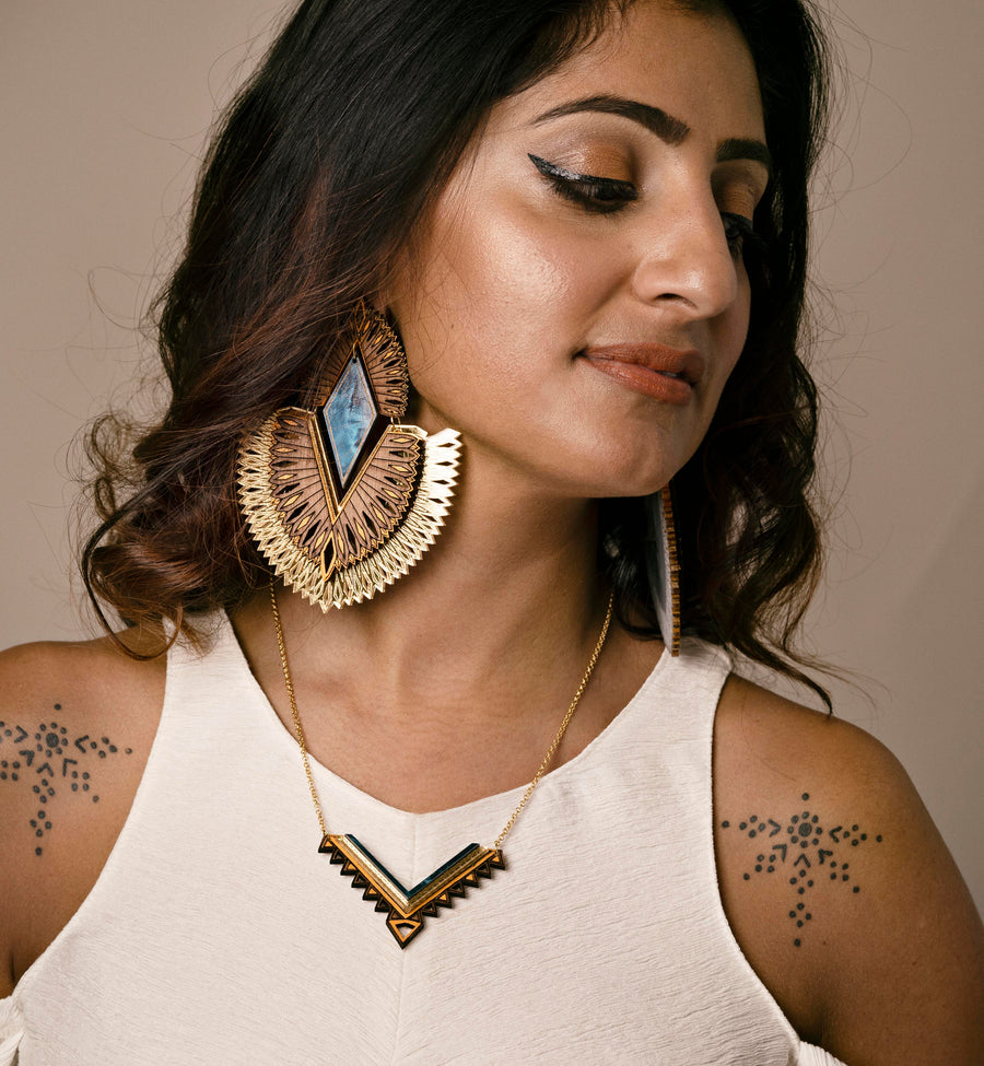 Veda Necklace - Anisha Parmar London