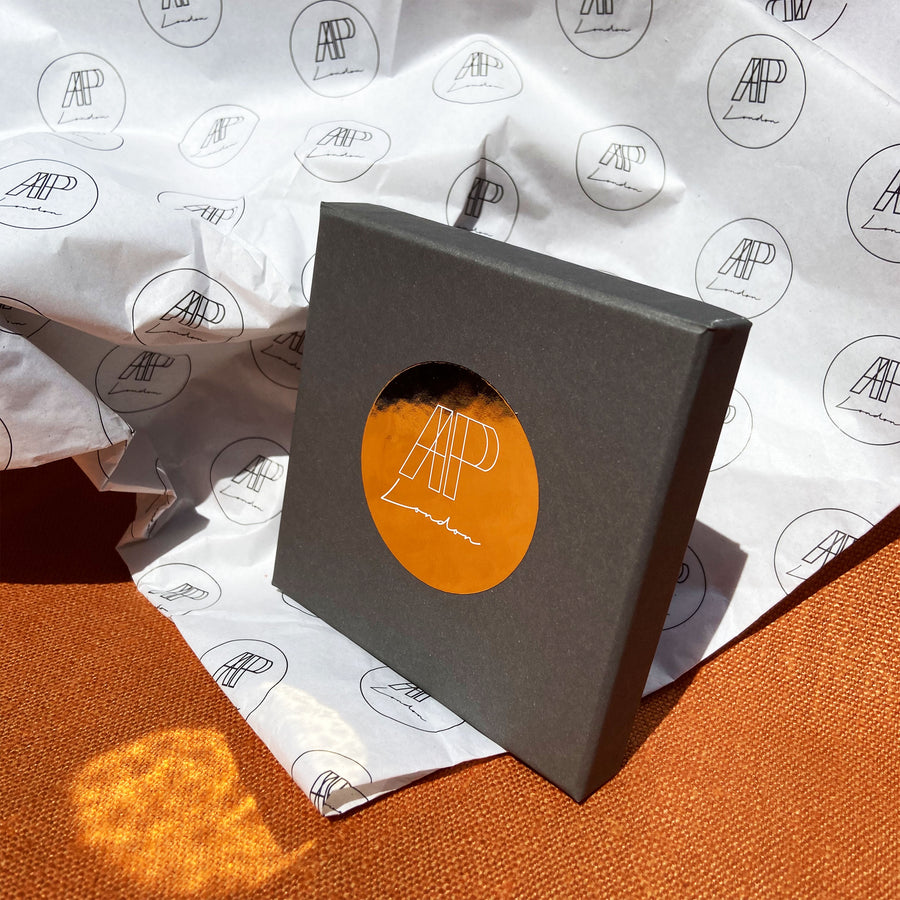 Lotus necklace packaging