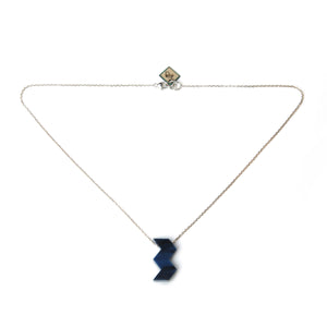 W Charm Necklace