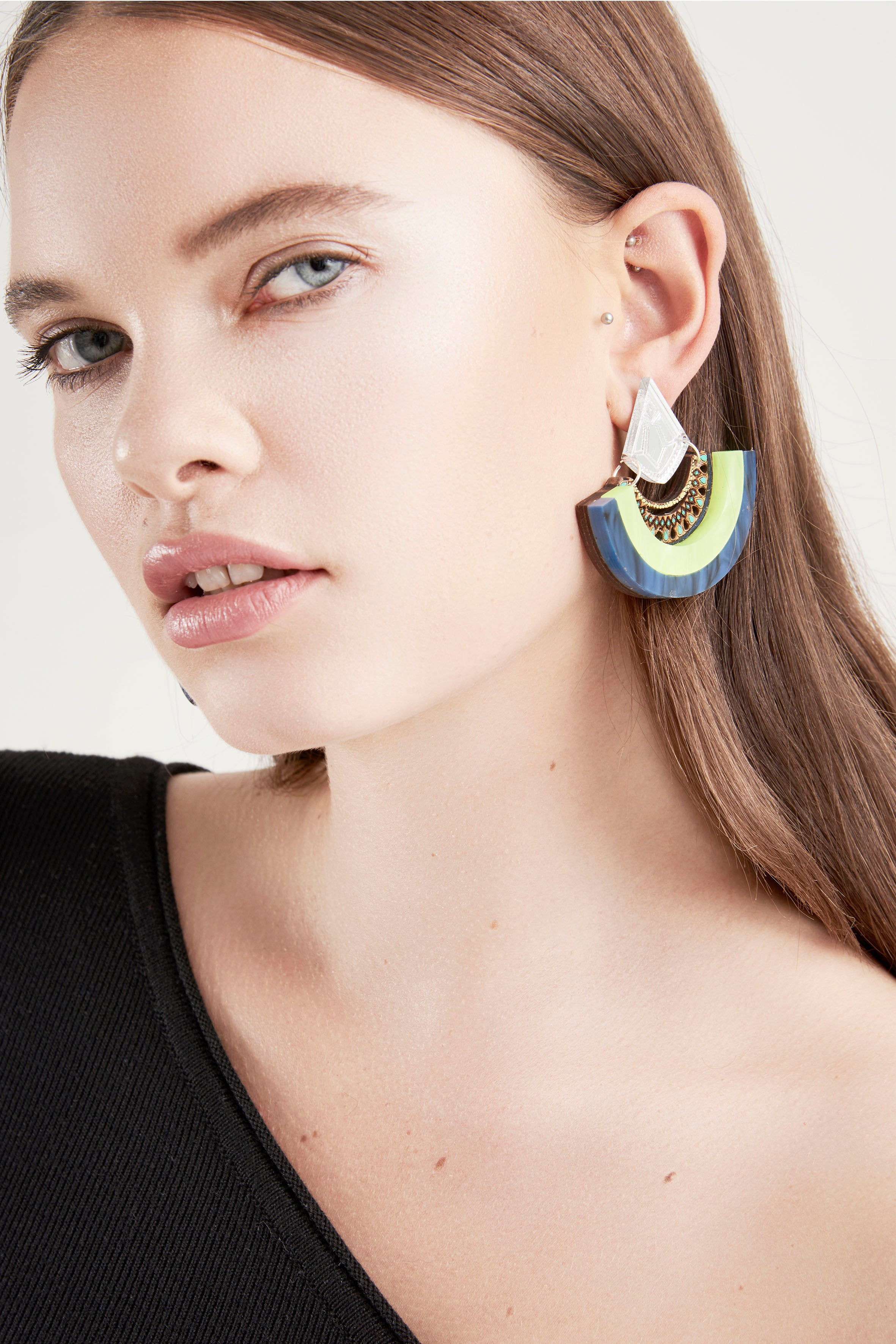 Y Drop Earrings