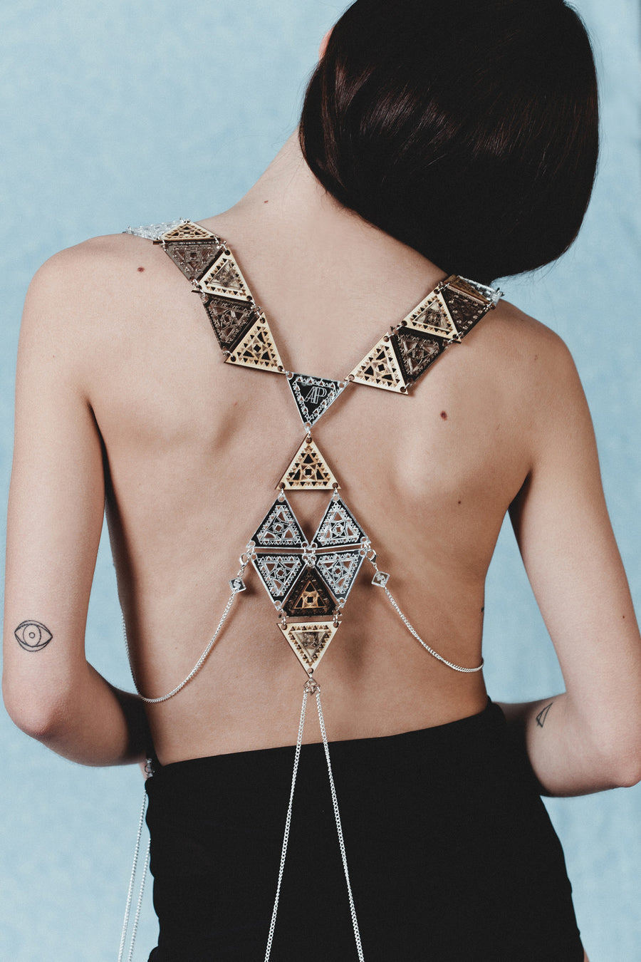 Trikon Statement Body Harness - Anisha Parmar London