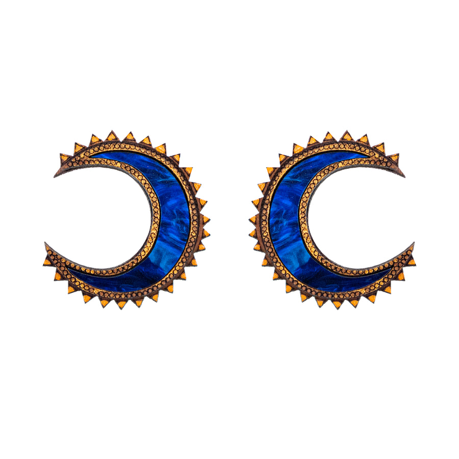 Chand Studs Large - Anisha Parmar London