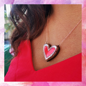 Limited Edition Heart Necklace - Anisha Parmar London