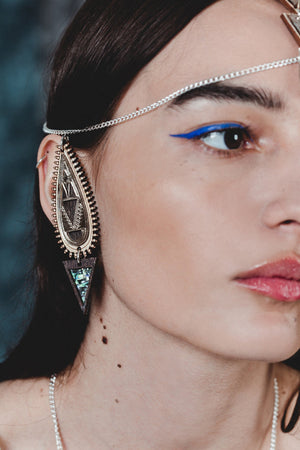 Palanquin Ear Cuff Earrings