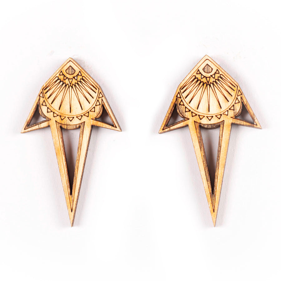 Raja Drop Studs - Anisha Parmar London