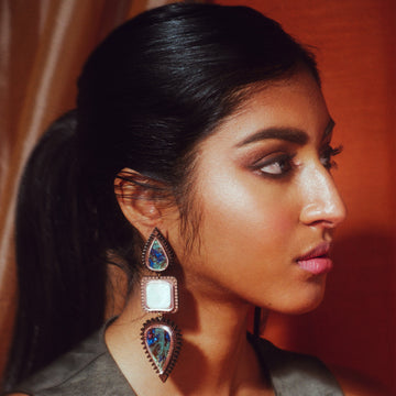 Sita Statement Earrings - Anisha Parmar London