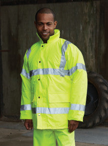 Hi Vis Contractor Jacket