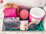 Pink Bath and Beauty Gift Box