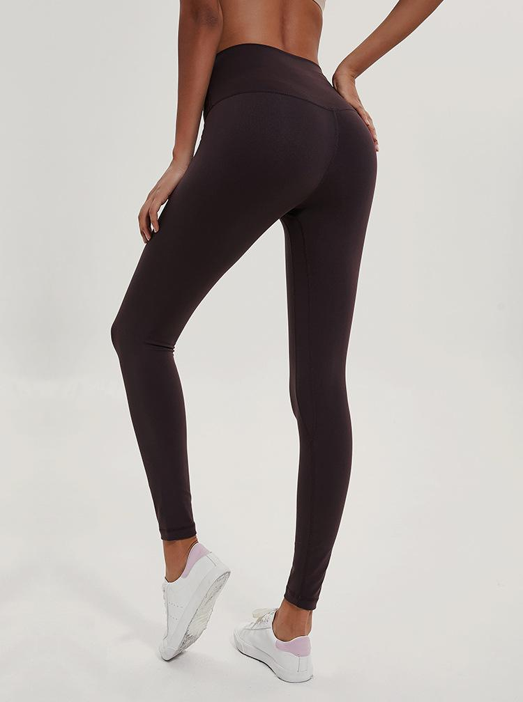 The Secret Secure Card Keeper Anti-Sweat High-Compression Slimming Yoga & Gym Leggings - HABIT