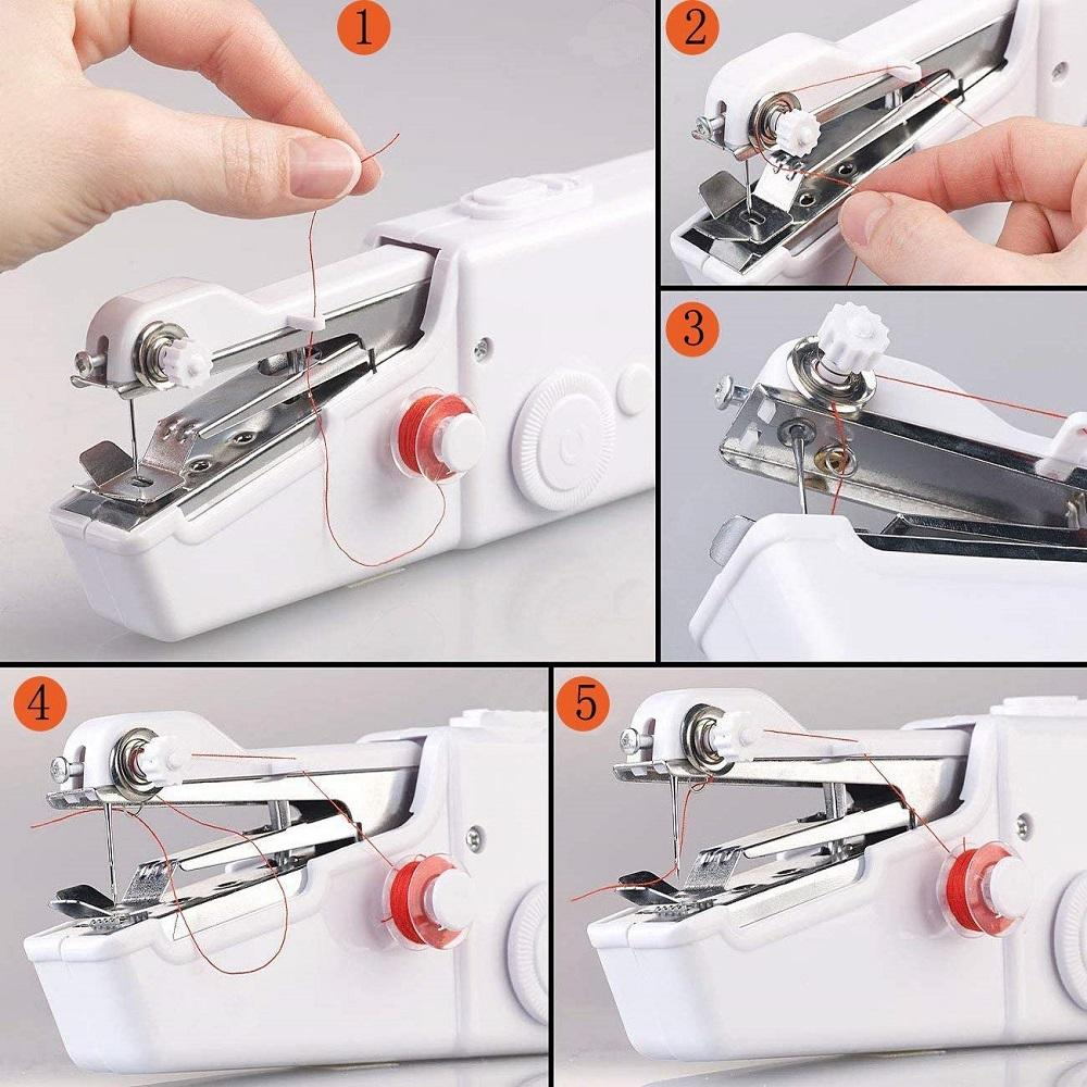 The Even Tinier Mini Portable Handheld Sewing Machine Sewing Machines Winzwon Official Store