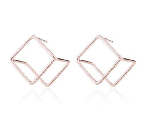 The 3D Ultra Contemporary Polygon Stud Earrings Collection Stud Earrings Cos Store