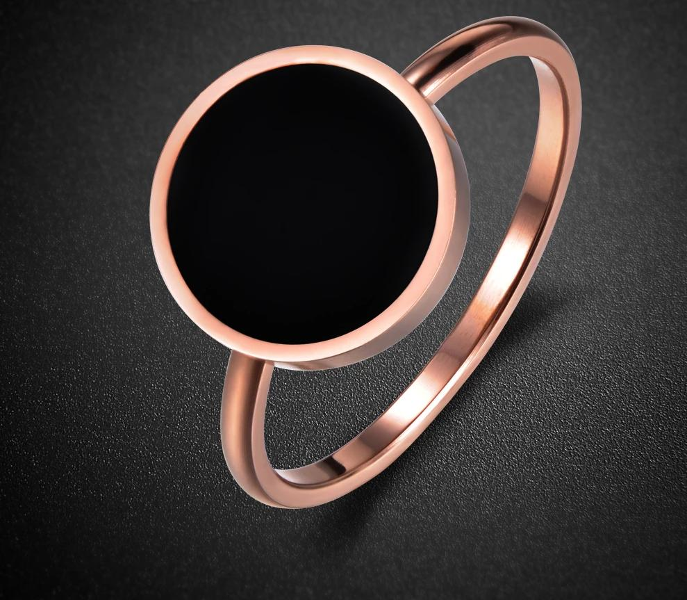 The Guard Against the Evil Eye 3 x Rose Gold Plated Ring Non-Toxic Lead, Nickel, and Cadmium Free Ring Engagement Rings JeeMango Store