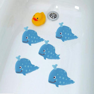 Silly Whale or Shark Anti-Bacterial Waterproof Non-Slip Grip Stickers Bath Mats My Bottle Store