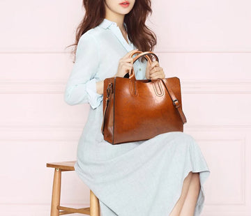 The Spanish Trunk Tote shoulder crossbody bag and Handbag - HABIT