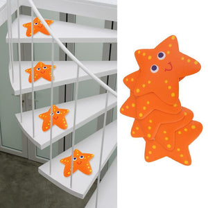 Silly Starfish Anti-Bacterial Waterproof Non-Slip Grip Stickers Bath Mats My Bottle Store