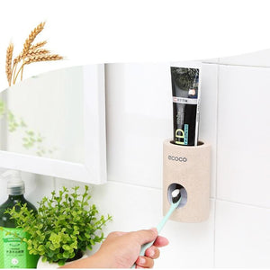 The Eco-Friendly Automatic Toothpaste Dispenser Bathroom Accessories Sets Global XINYU Store