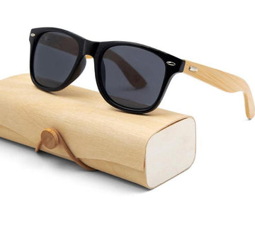 The Bamboo Lightweight wooden retro Sunglasses Men's Sunglasses Mangoboy Glasses Store