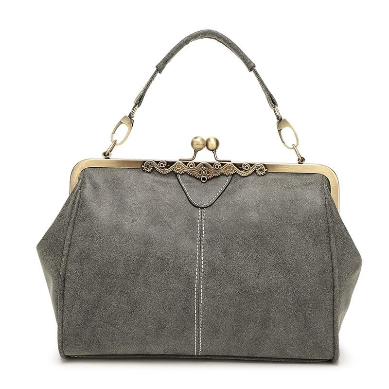 The Retro Doctor All-in-One Shoulder Crossbody Bag and Handbag Shoulder Bags Shop1317070 Store Gray