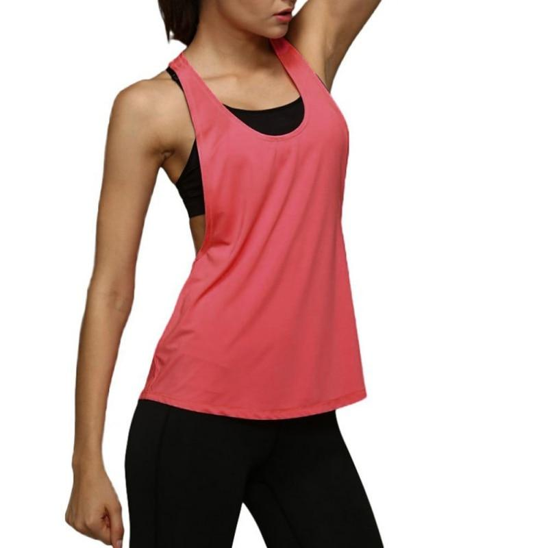 The Minimal Sleeveless Singlet Vest Yoga Shirts Loves Sporting Store