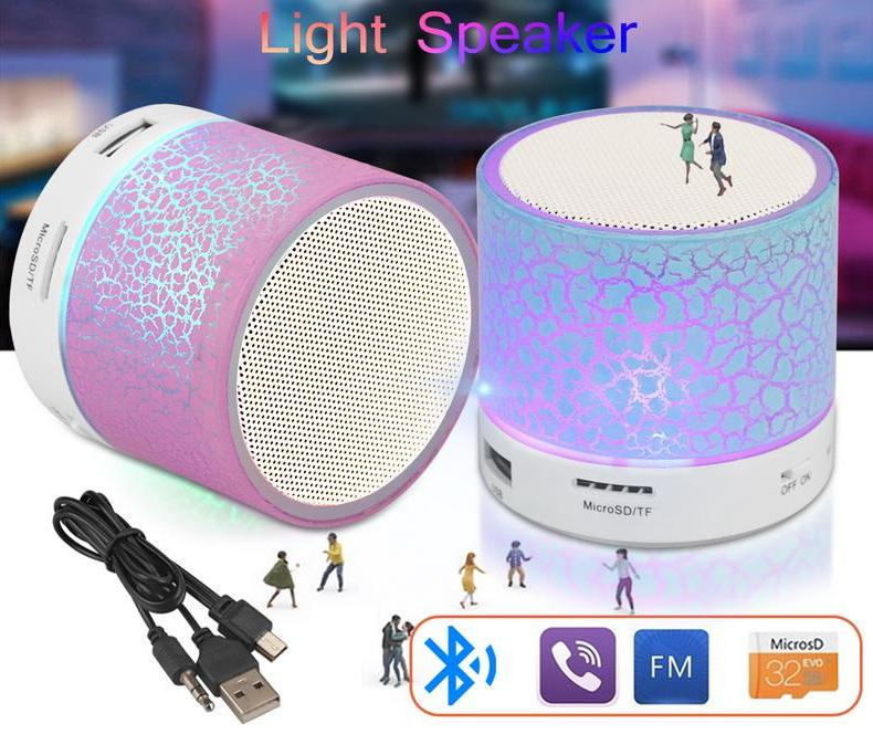 The LED Disco Portable Mini Bluetooth Wireless Speaker Portable Speakers GETIHU Official Store