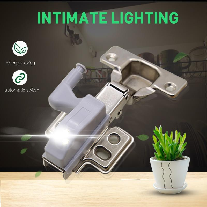 The LED Under Cabinet Universal Wardrobe Light and Inner Hinge Lamp for Closet Under Cabinet Lights goodland Official Store