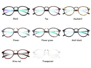 The One and Only Classic Transparent Round Glasses Frames Women's Eyewear Frames SHENZHEN BO SHI TONG