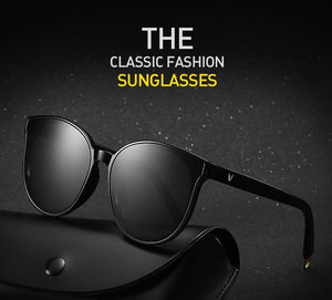 The Luxe Flat Top Oversized Cat Eye Sunglasses Women's Sunglasses ProudDemon Official Store