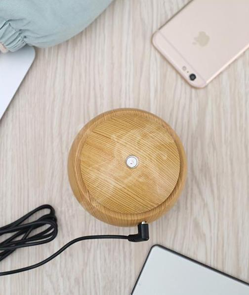 The Eco-Friendly USB Essential Oil Aroma Diffuser, Ultrasonic Cool Mist Air Purifier Humidifier, AND 7 LED Colour Changing Night Light Ball of Wonder Humidifiers KBAYBO Official Store