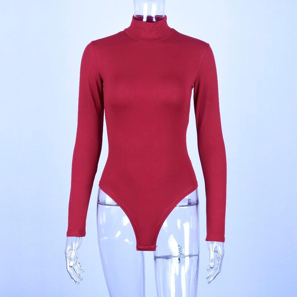 The Warming Autumn Winter Turtleneck Long Sleeve Bodysuit Bodysuits dulzura Official Store