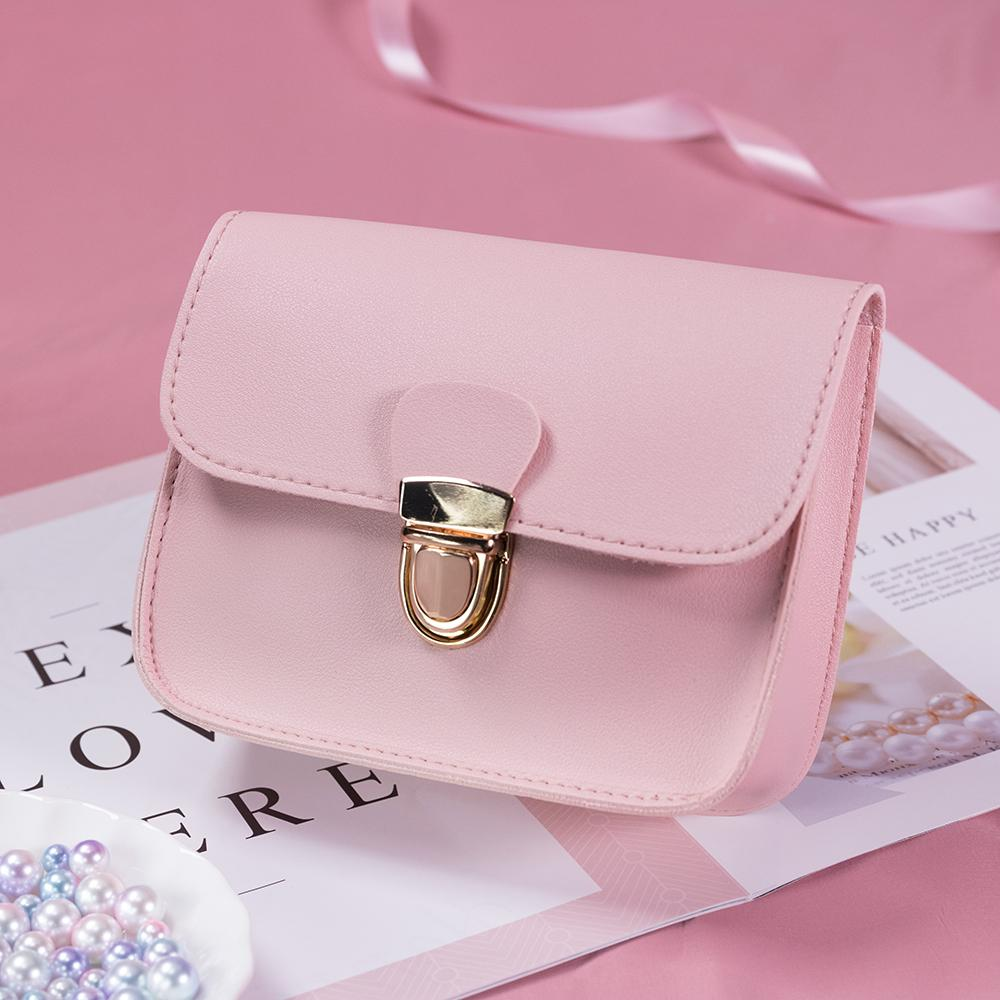 The Tiny Button Crossbody Shoulder Messenger Bag Top-Handle Bags St Ruizhu Store