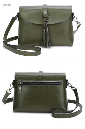 The Femme Fatale Victorian Leather Briefcase Messenger Crossbody Bag Top-Handle Bags ESUFEIR Official Store