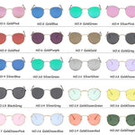 Classic Round Sun Street Beat Unix Mirror Sunglasses Women's Sunglasses RBROVO Official Store