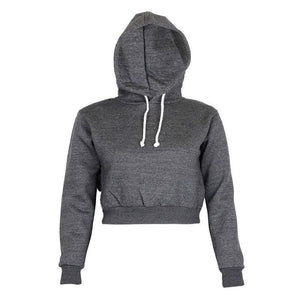 The Must-Have Over-sized Crop Hoodie Hoodies & Sweatshirts Rosie Design Store