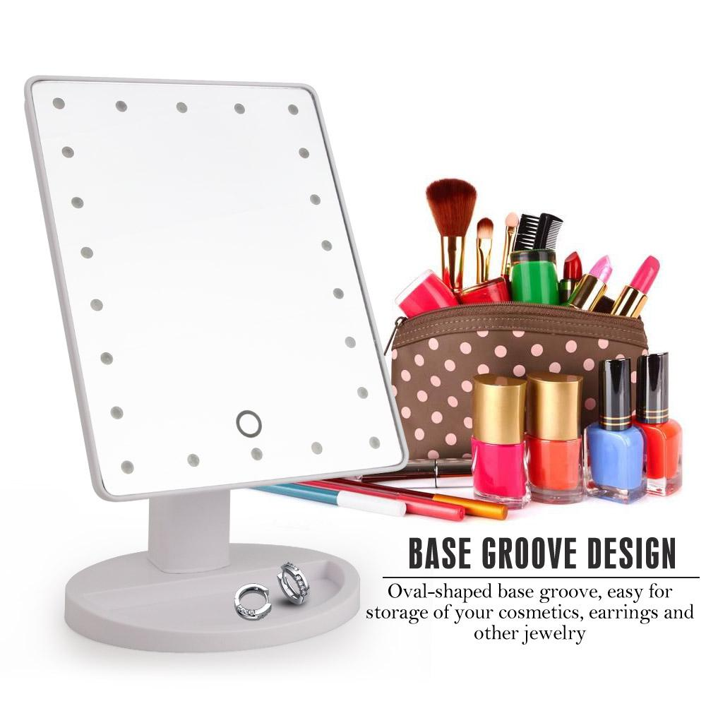 The Broadway Show Magic Intelligent Touch Screen LED Adjustable Lights Mirror Makeup Mirrors DearBeauty Store