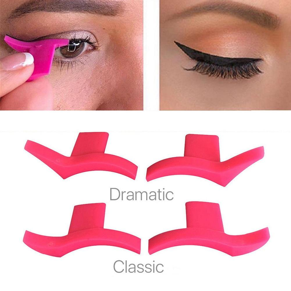 The Reusable Cruelty-Free Perfect Every Time and Super Easy Wing Makeup Eyeliner Stamp Stencil Eyeliner Sexy Beautiful Store