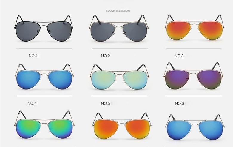 The Outdoor Lover Luxe Pilot Mirror Unisex Eyewear Women's Sunglasses LeonLion Store