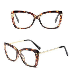 Find Your Dream Pair With The Squarish Cat Eyeglasses Frames Women's Eyewear Frames Logorela Official Store