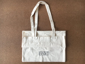 HABIT 100% Organic Cotton Canvas Tote Bag Bag HABIT