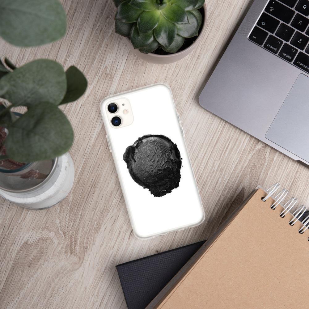 iPhone Case - Ice Cream Ball FIGHT - Coconut Charcoal HABIT