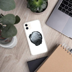 iPhone Case - Ice Cream Ball FIGHT - Silver Snowflake HABIT