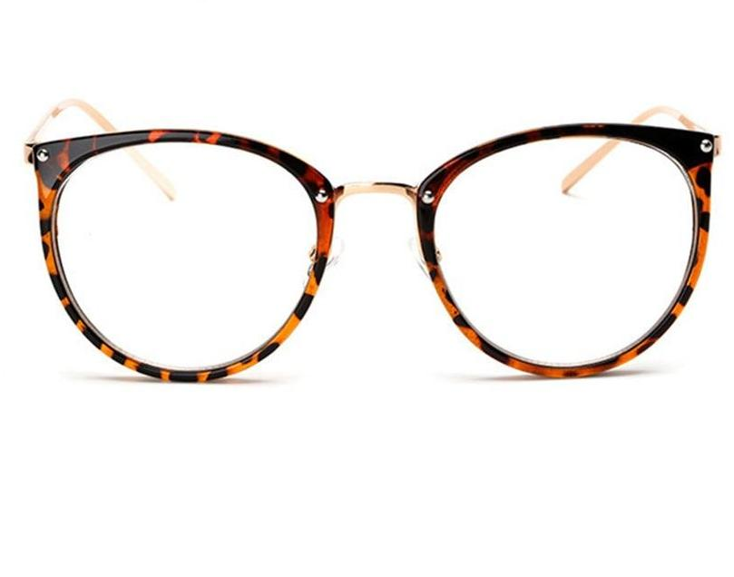 The Kaleidoscope Oversized Cat Eye Glasses Frames Women's Eyewear Frames Kaleidoscope Store