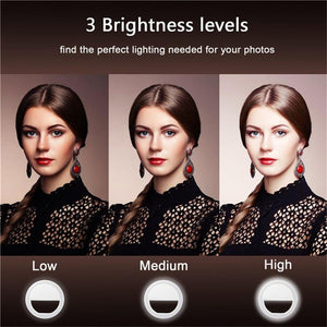 The Most Convenient Selfie Enhancing Profesh Light for a Girls Night Out Photographic Lighting Jun 3C Accessories Store
