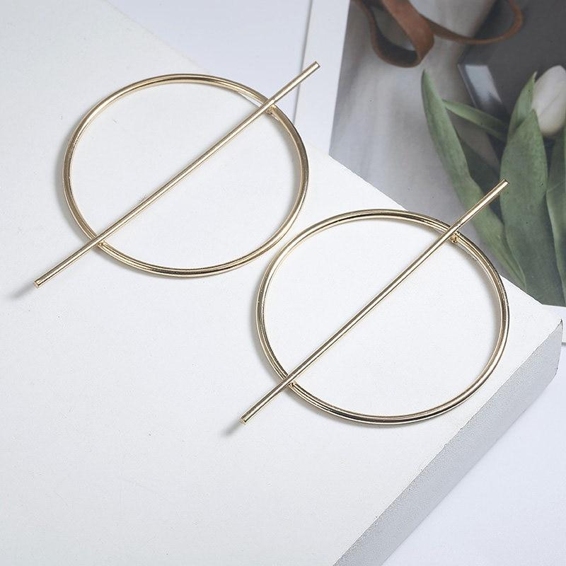 Handmade Super Oversized Exaggerated Big Circle of Life Non-Toxic Alloy Earrings Drop Earrings ZSC JEWLRY & ACCESSORIES