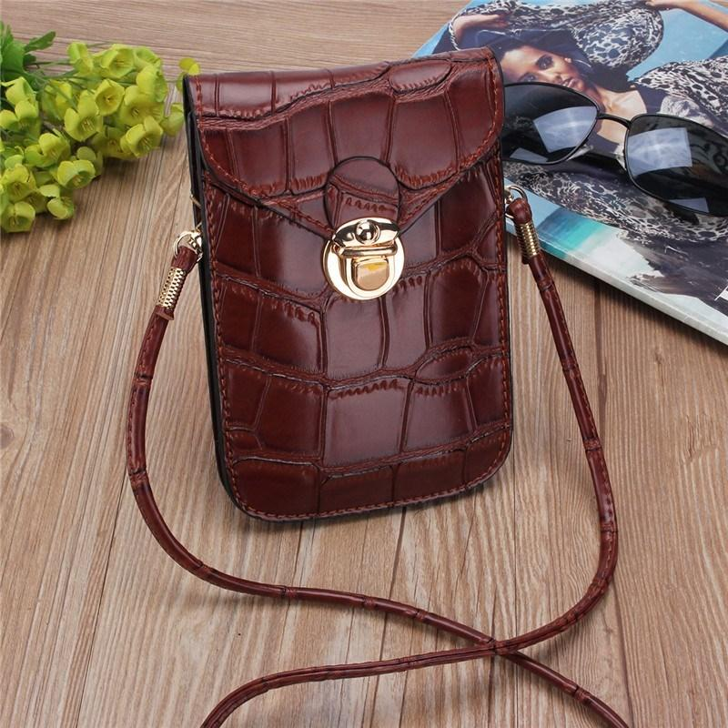 Mini Crocodile Phone Clutch Shoulder Bag Shoulder Bags CNY Trade Co.,Ltd