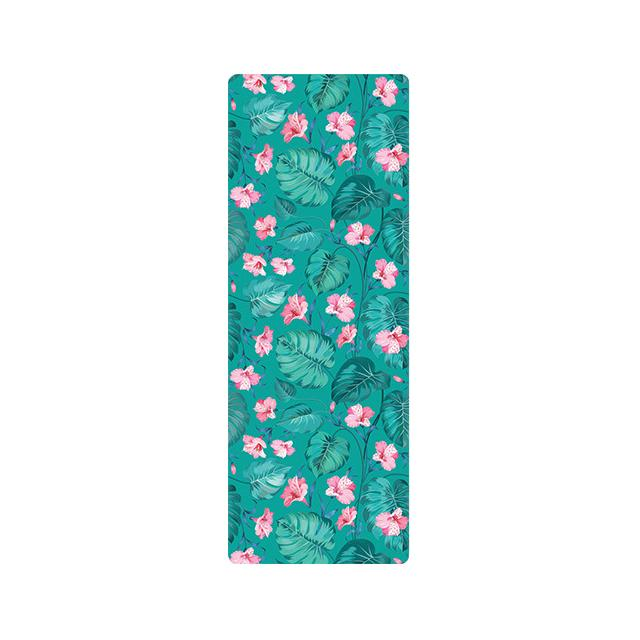 The Mrs. Captain Planet MACHINE-WASHABLE (!) Non-Toxic Recycled Totes Sustainable Environmentally-Friendly Minimalist Luxe Yoga Mat Pad Yoga Mats zhongzuishang Official Store Classic Forest