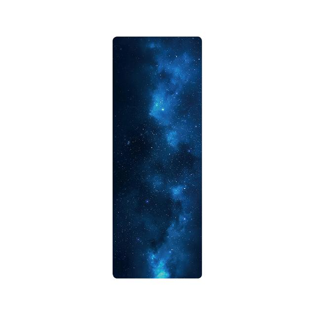 The Mrs. Captain Planet MACHINE-WASHABLE (!) Non-Toxic Recycled Totes Sustainable Environmentally-Friendly Minimalist Luxe Yoga Mat Pad Yoga Mats zhongzuishang Official Store The Deep Blue Big Bang