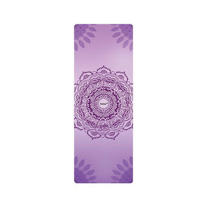 The Mrs. Captain Planet MACHINE-WASHABLE (!) Non-Toxic Recycled Totes Sustainable Environmentally-Friendly Minimalist Luxe Yoga Mat Pad Yoga Mats zhongzuishang Official Store The Crown Chakra (Enchanting Violet)